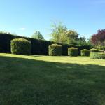 Domaine de Pessel Holiday Cottages Formal Gardens